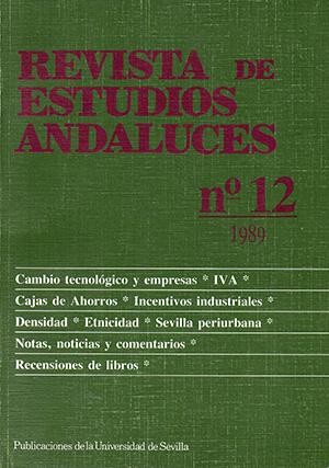 Ver Núm. 12 (1989): REVISTA DE ESTUDIOS ANDALUCES (REA)
