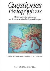 Ver Núm. 17 (2005): La educación en la construcción del Espacio Europeo