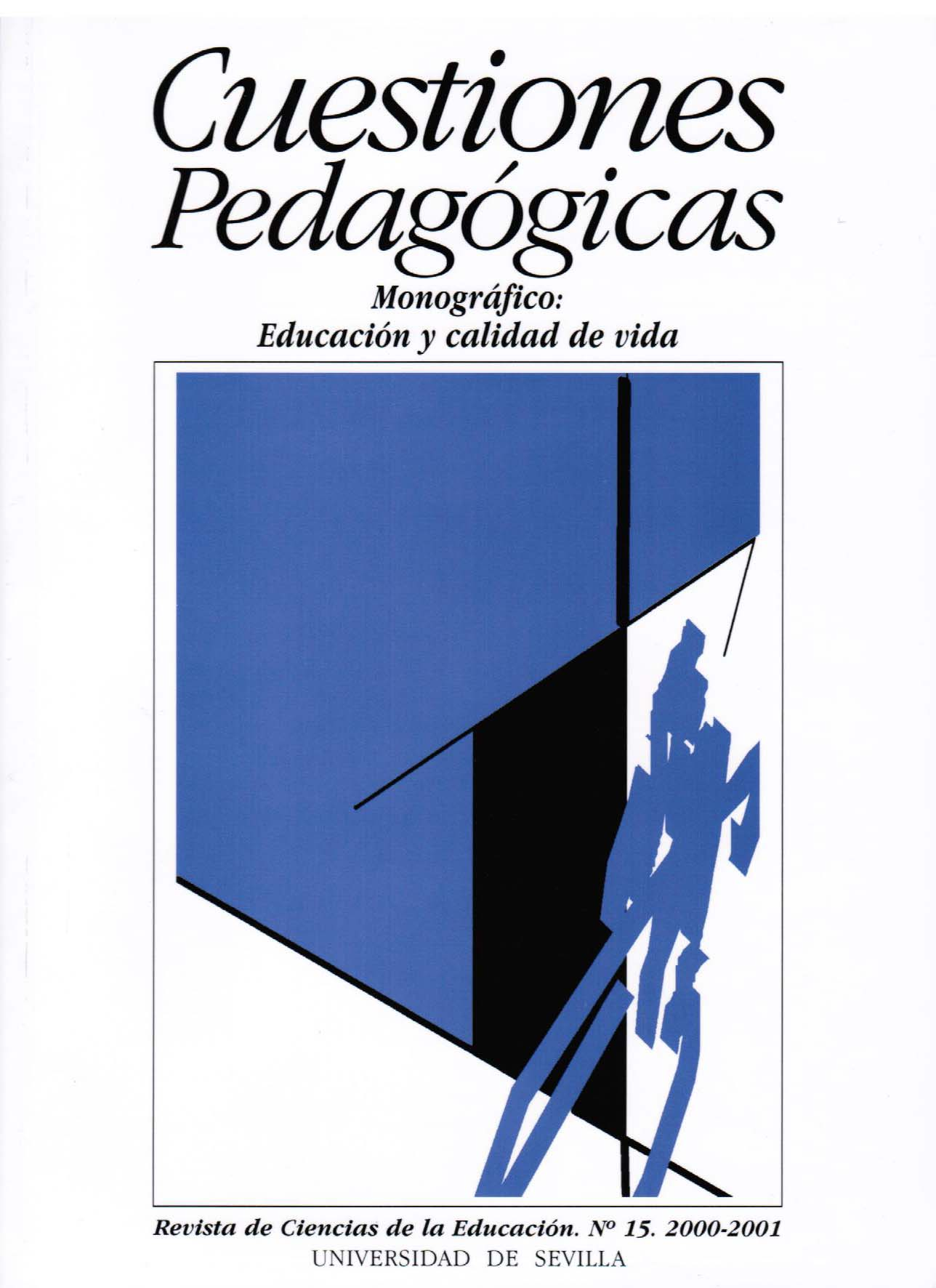 Ver Núm. 15 (2001): Educación y calidad de vida