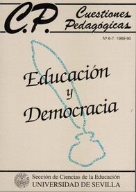 Ver Núm. 6-7 (1990): Educación y Democracia