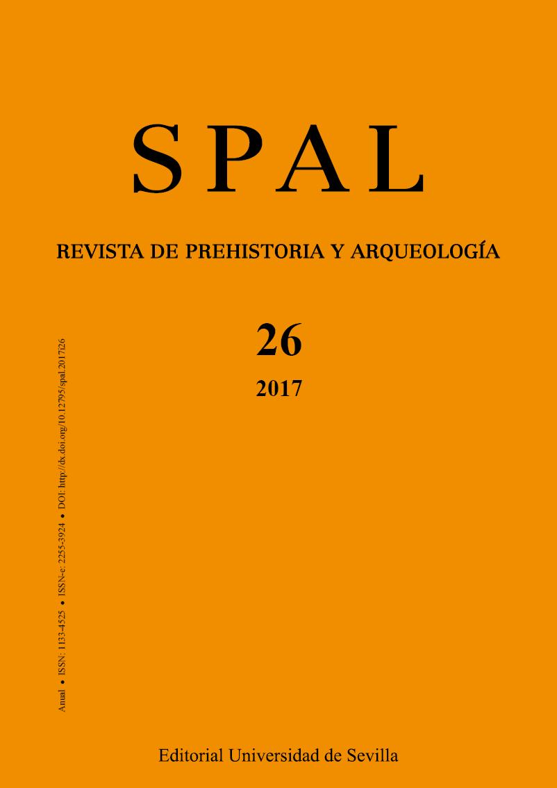 Portada de la revista SPAL número 26. Año 2017