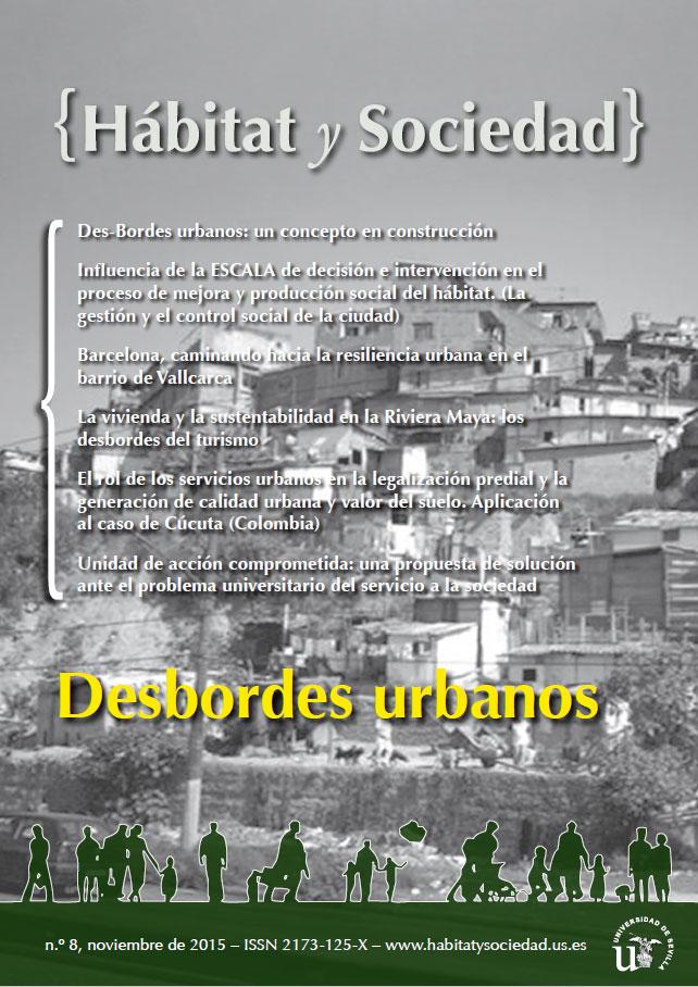 Ver Núm. 8 (2015): Desbordes Urbanos