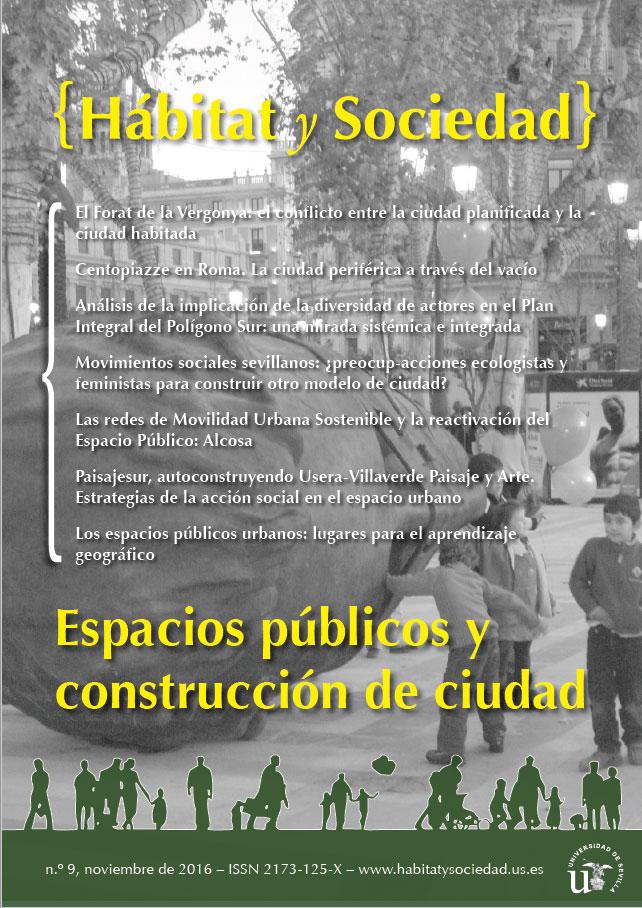 Ver Núm. 9 (2016): Espacios públicos y construcción de ciudad