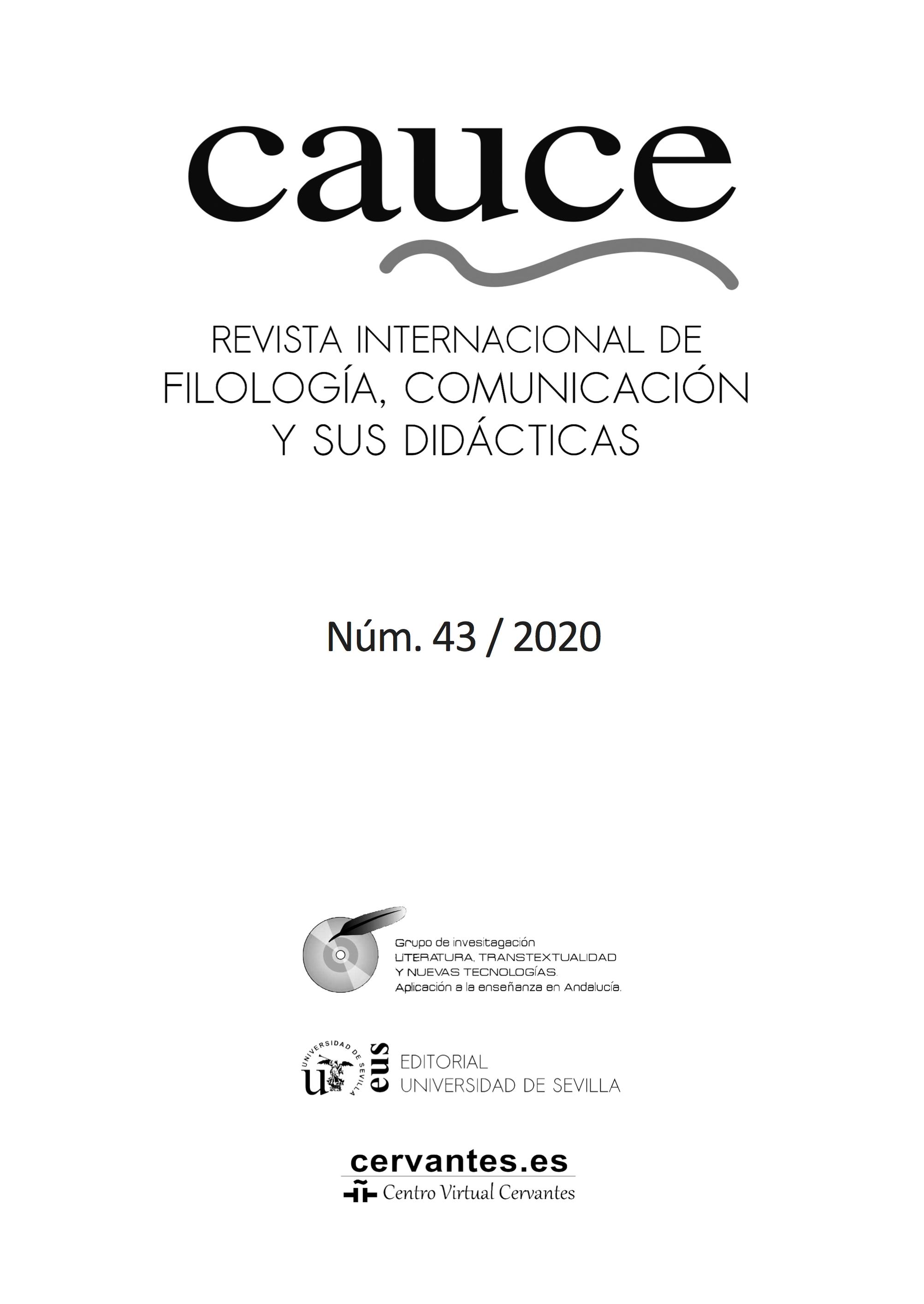 Ver Núm. 43 (2020): Monográfico «Genealogía literaria y autoría femenina: las escritoras en su 'vocación nunca traicionada'» y Miscelánea