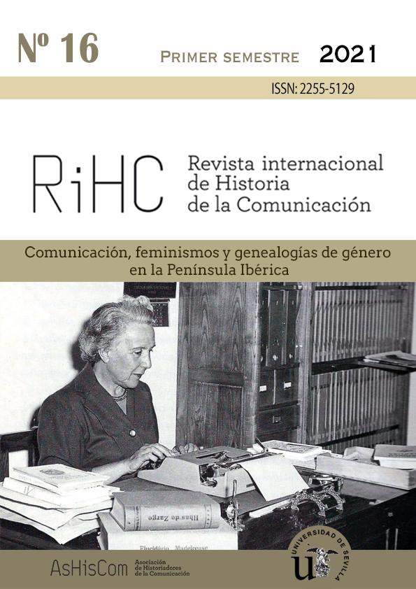 Ver Núm. 16 (2021): Comunicación, feminismos y genealogías de género en la Península Ibérica