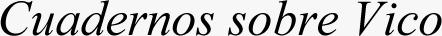 Logo Revista Cuadernos sobre Vico