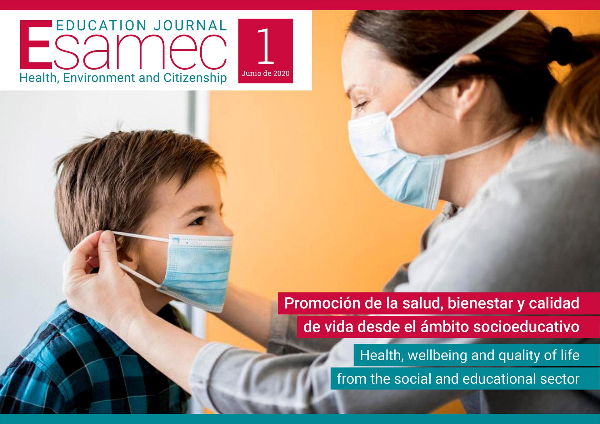 Ver Núm. 1 (2020): Promoción de la salud, bienestar y calidad de vida desde el ámbito socioeducativo