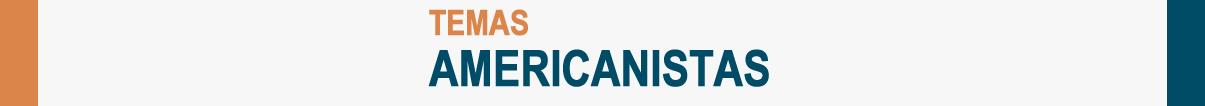 Logo Revista Temas americanistas