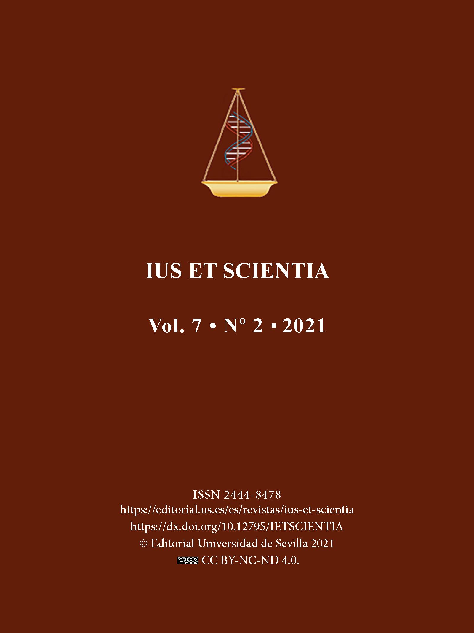 Ver Vol. 7 Núm. 1 (2021): El jurista en la era digital: inteligencia artificial, robótica, tecnologías anexas y bioderecho